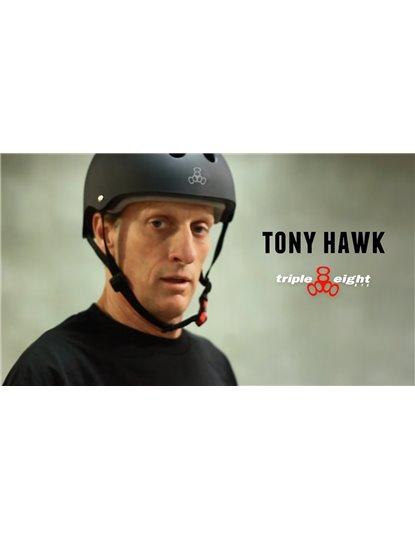 TRIPLE 8 THE CERTIFIED HELMET TONY HAWK EDITION S21