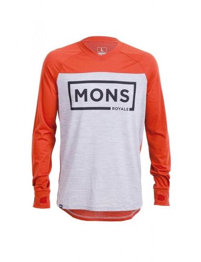 Mons Redwood V LS Box Logo S17