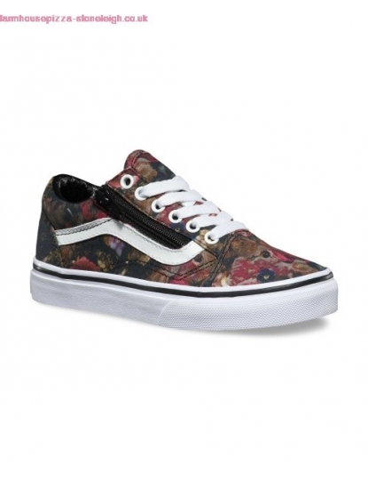 VANS OLD SKOOL ZIP FLORAL S17