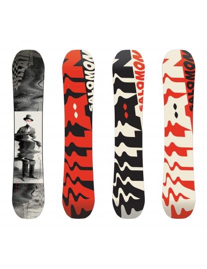 SALOMON VILLAIN MENS SNOWBOARD S19