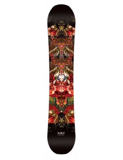 NEVER SUMMER WOMENS AURA SNOWBOARD S18