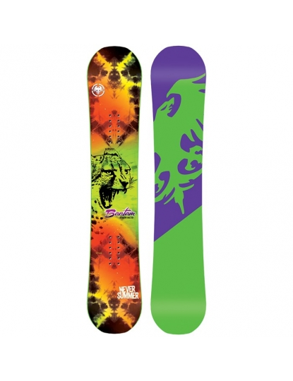 NEVER SUMMER BANTAM SNOWBOARD - KIDS