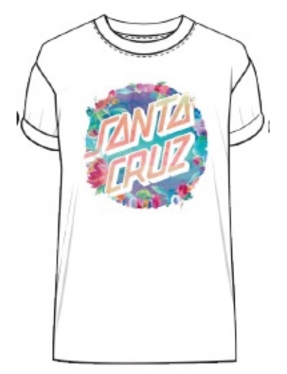 SANTA CRUZ WATER DOT TEE S18
