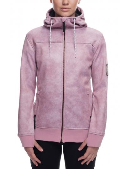 686 WOMENS ELLA BONDED ZIP FLEECE HOODY  S19