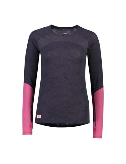 MONS ROYALE BELLA TECH LS TOP WOMENS S19