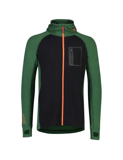MONS ROYALE MENS TRAVERSE MIDI FULL ZIP HOOD S19