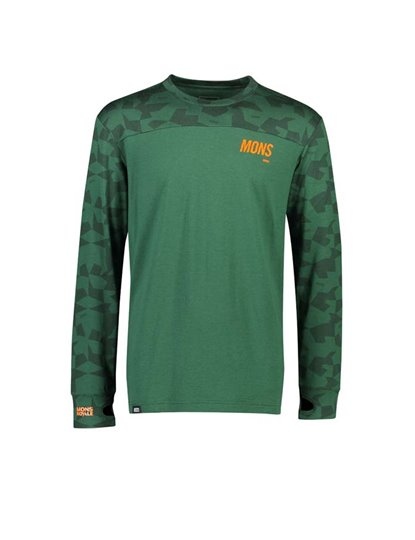 MONS ROYALE MENS YOTEI TECH LS S19
