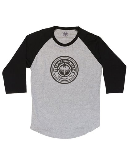 NEVER SUMMER BULLET EAGLE 3/4 SLEEVE RAGLAN S19