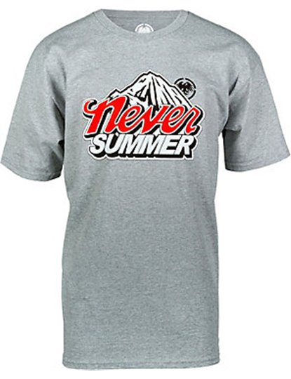 NEVER SUMMER COLD MOUNTAIN SS TEE  S19