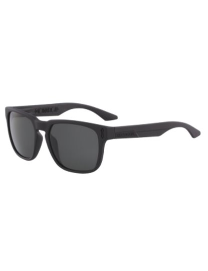 DRAGON MONARCH MATTE BLACK SUNGLASSES S19