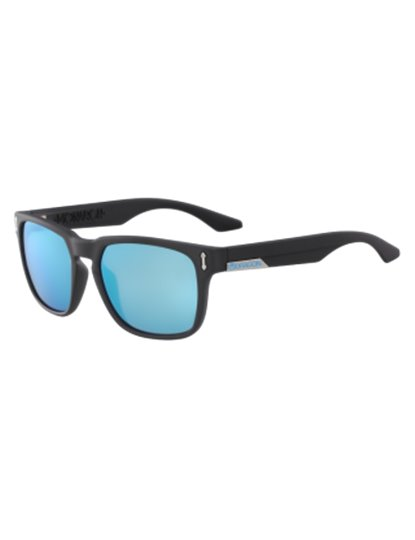DRAGON MONARCH ION MATTE BLACK / LLBLUE SKY ION SUNGLASSES S19