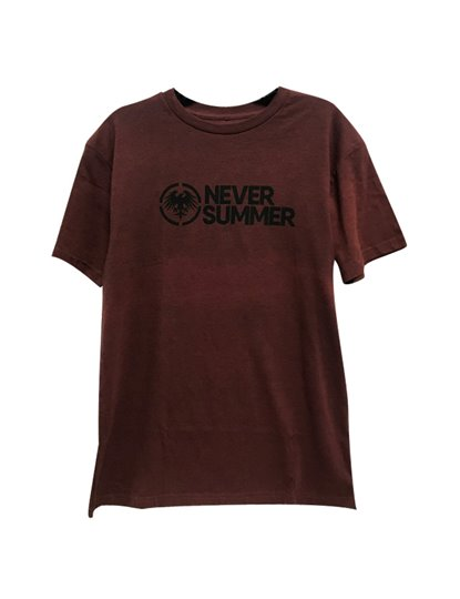 NEVER SUMMER CORPORATE SS TEE S19