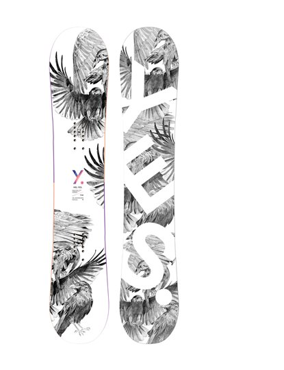 YES HEL YES SNOWBOARD S21
