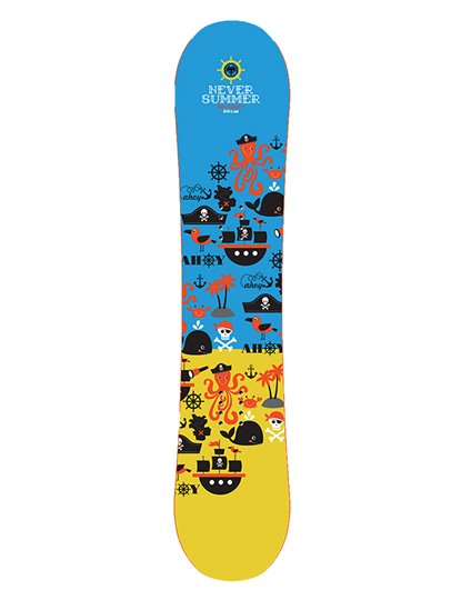 NEVER SUMMER SHREDDER SNOWBOARD PREORDER