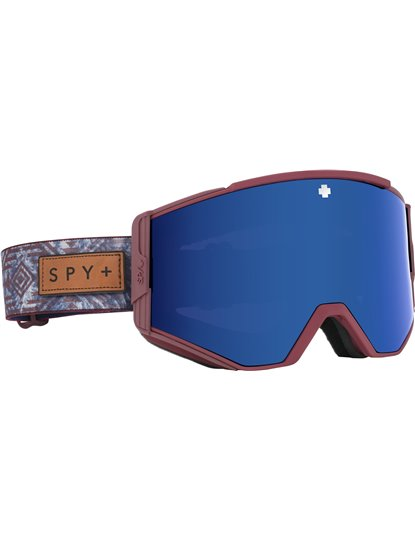 SPY ACE GOGGLE NATIVE NATURE RED S20