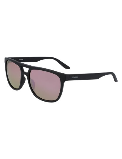 DRAGON COVE SUNGLASSES MATTE BLACK S20