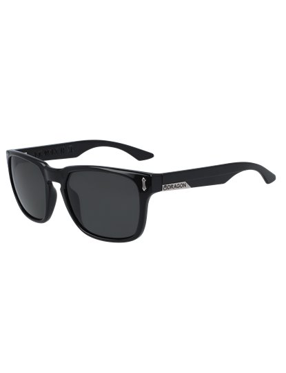 DRAGON MONARCH XL POLAR SUNGLASSES JET BLACK S20