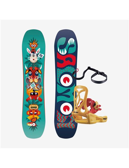 SALOMON TEAM PACKAGE SNOWBOARD S22