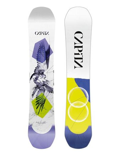 CAPITA BIRDS OF A FEATHER WOMENS SNOWBOARD S22