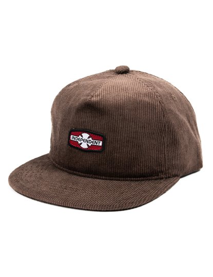 INDEPENDENT OGBC RIGID CORD SNAP BACK HAT S21