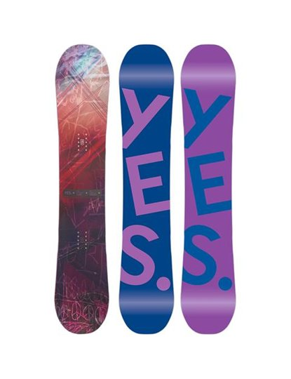 YES HELLO WOMENS SNOWBOARD S22